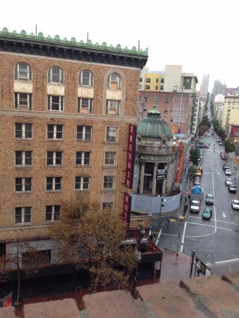 Aida Hotel: Вид из номера на верхних этажах
