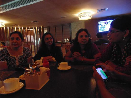 The Karnavati Club: cafeteria food court
