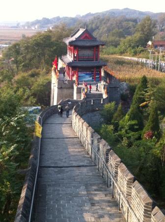 Kuandian County, China: 長城途中