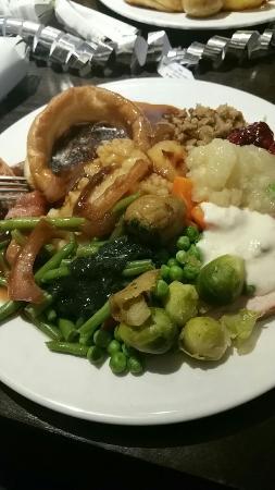 Staff christmas meal