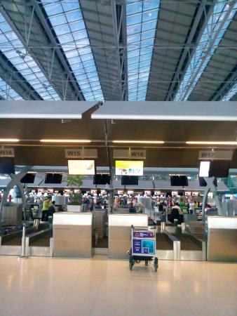 SUVARNABHUMI AIRPORT BANGKOK - Picture of Airport Rail Link, Bangkok ...