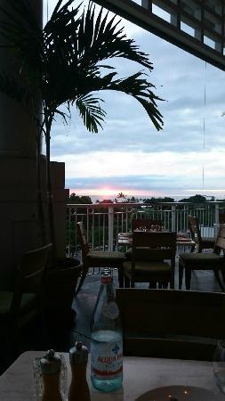 Mariposa: テラス席からの眺め