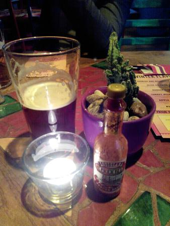 Blue Cactus: beer is also very good here