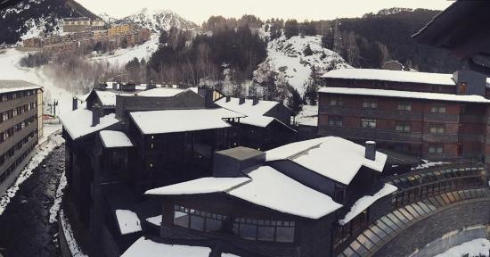 Hotel Euro Esqui: vistas desde la habitacion 4º planta