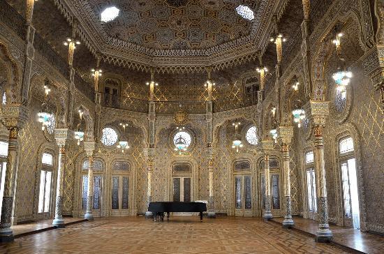 Palacio da Bolsa : Palacia da Bolsa - sala araba