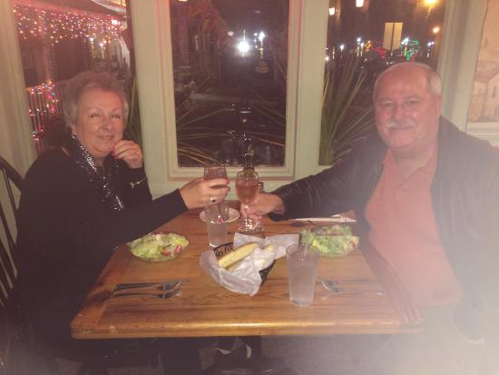 Chiapparelli's: our good street vew dining table
