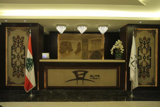 Elite Duroy Hotel & Spa : Reception