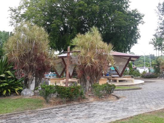 Miri District, Malasia: фонтан