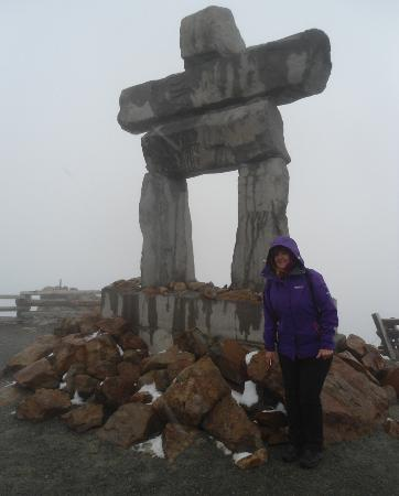 Whistler Activity and Information Center : Inuckchuck on Whistler Summit