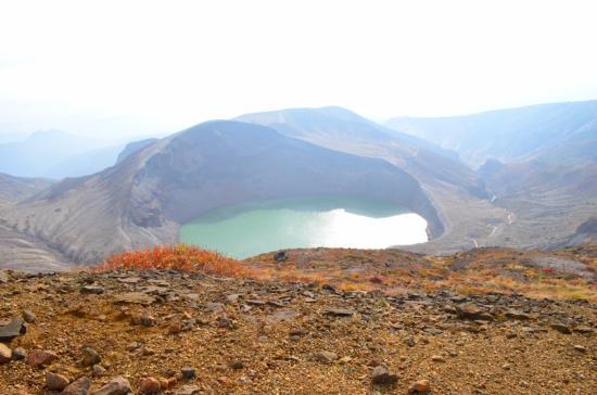 Miyagi Prefecture, Japan: 馬の背から見た五色岳