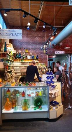 Charleston, Virginia Occidental: Blenko shop