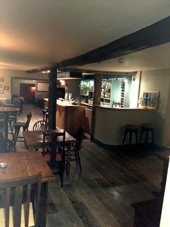Letcombe Regis, UK: The bar