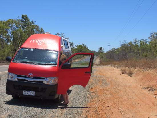 Undara Volcanic National Park, Avustralya: Onderweg