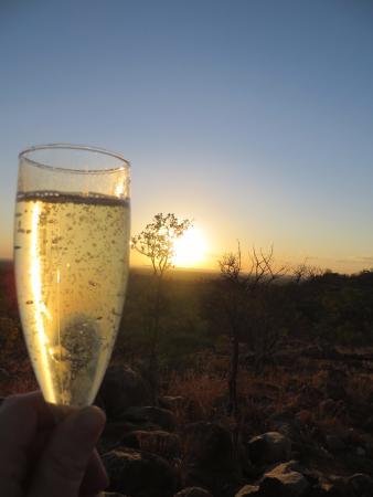 Undara Volcanic National Park, Avustralya: Champagne