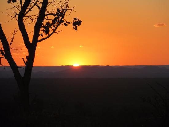 Undara Volcanic National Park, Australia: Zonsondergang