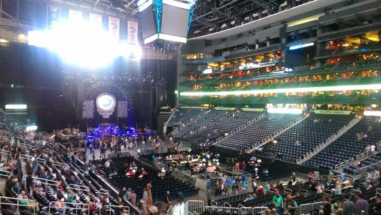 Inside For A Concert Picture Of Philips Arena Atlanta