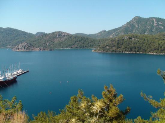 Mersoy Exclusive Aqua Resort: вид бухты