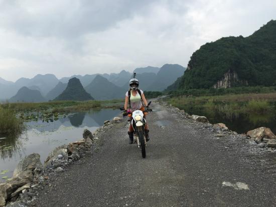 Freebird Adventures: ride thru the Lotus flower lake