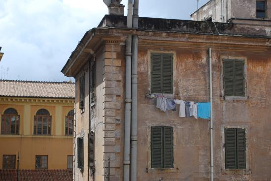 Residence San Pietro La Corte: view out one of the bedrooms