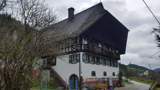 Gutach im Breisgau, Allemagne : Exterior of the farmhouse