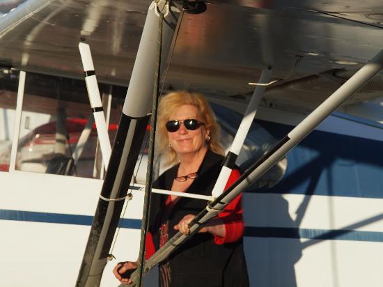 Me at Merrill Field Airstrip