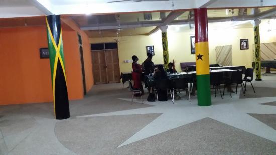 Apam, Ghana: Ladies dining