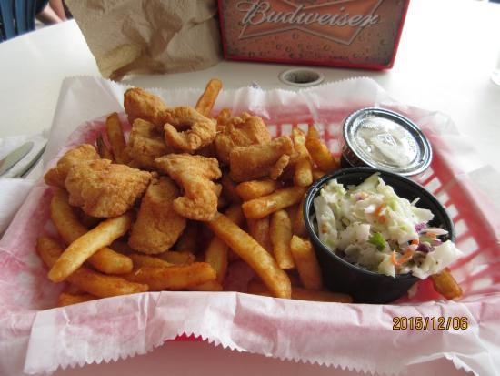 The Fish House: Grouper fish basket, yummy !!!!