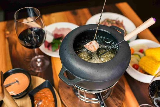 Cermes, Ιταλία: fondue