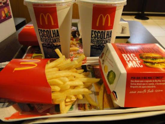 Lanches do mc