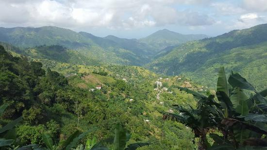 Mount Edge Guest House: View of blue mountain