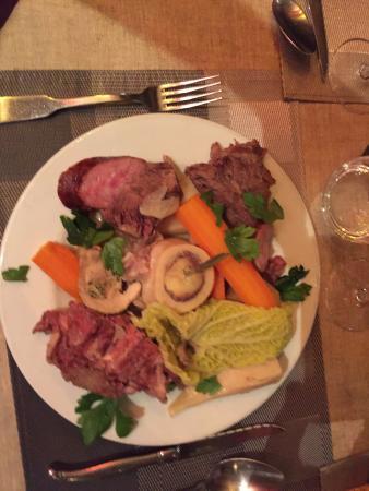 pot au feu avec foie gras picture of le pot au feu belfort tripadvisor