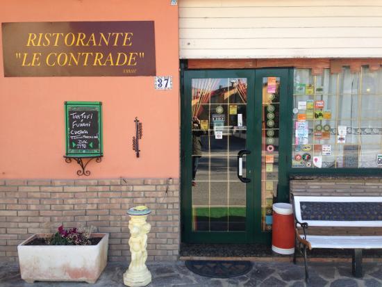 Piandimeleto, Italia: Ingresso