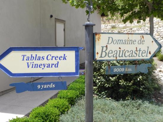 Tablas Creek Vineyard: Wineyard exterior