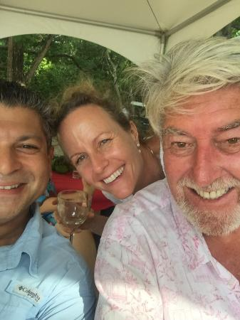 Firefly Hotel Mustique: Stan and Liz