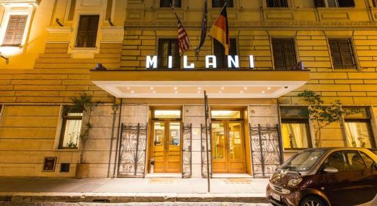 Milani Hotel: Foto Facciata