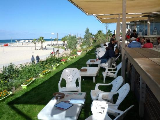 Herzliya, İsrail: Outdoor Area