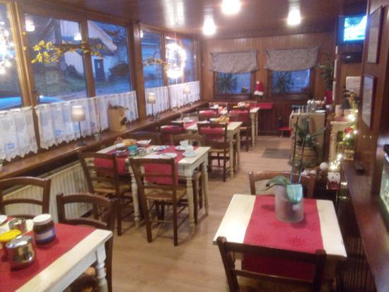 Hotel De Liege : Frühstücksraum