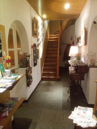 Hotel De Liege : Flur Erdgeschoss