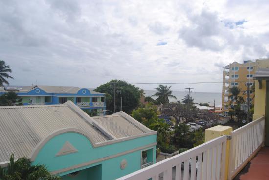 Meridian Inn: View from balcony