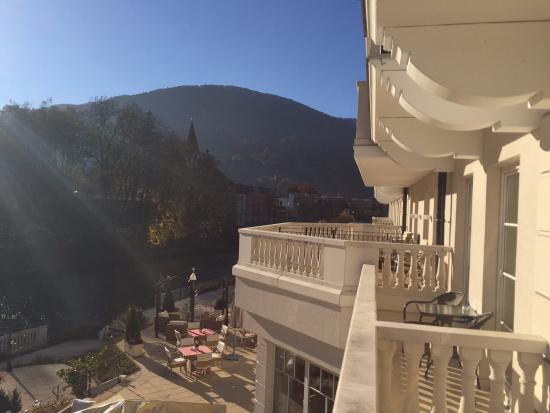 Grand Hotel Lienz: Blick vom Balkon