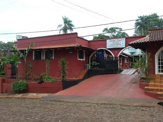 Hotel Iguazu Royal : главный въезд
