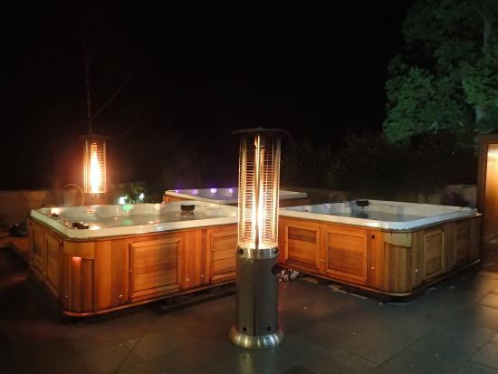 Stobo Castle Health Spa Outdoor Hot Tubs