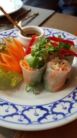 Nakhon Thai: Apetizer spring roll