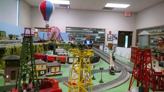 Mebane Train Display