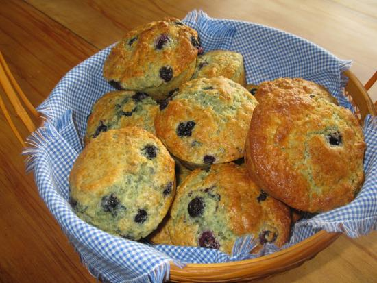 Avalanche Bed and Breakfast : Trish's muffins