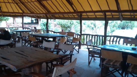 Ndololo Camp: Great Food