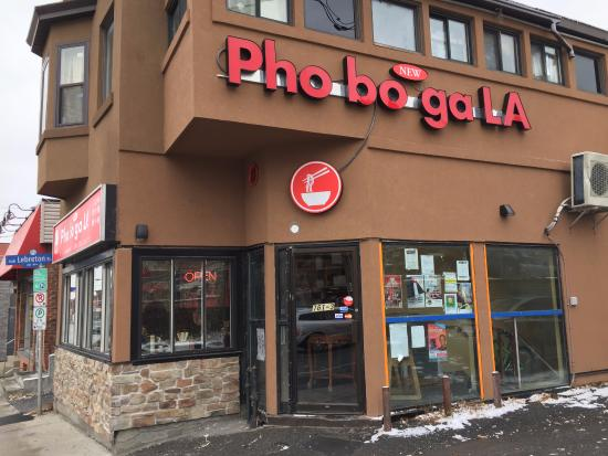 New Pho Bo Ga: This is the restaurant I'm talking about