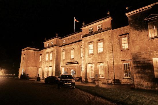 Ston Easton, UK: The House at night