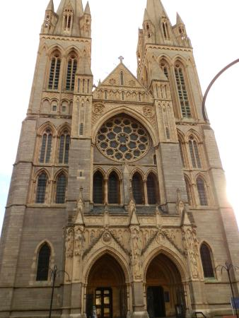 Morning light at Truro Cathedral