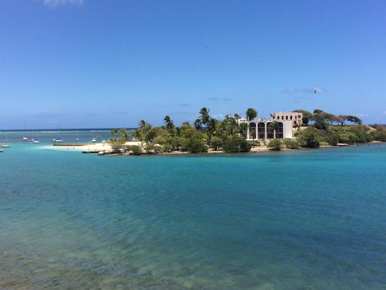 View of the Hotel on the Cay from St. Croix
